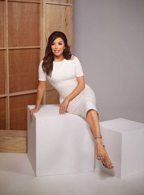 Eva Longoria DNC Dress - Embed