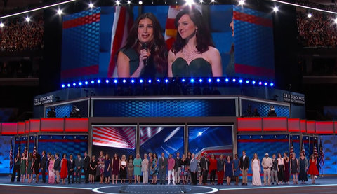 What the World Needs Now Is Love DNC Performance