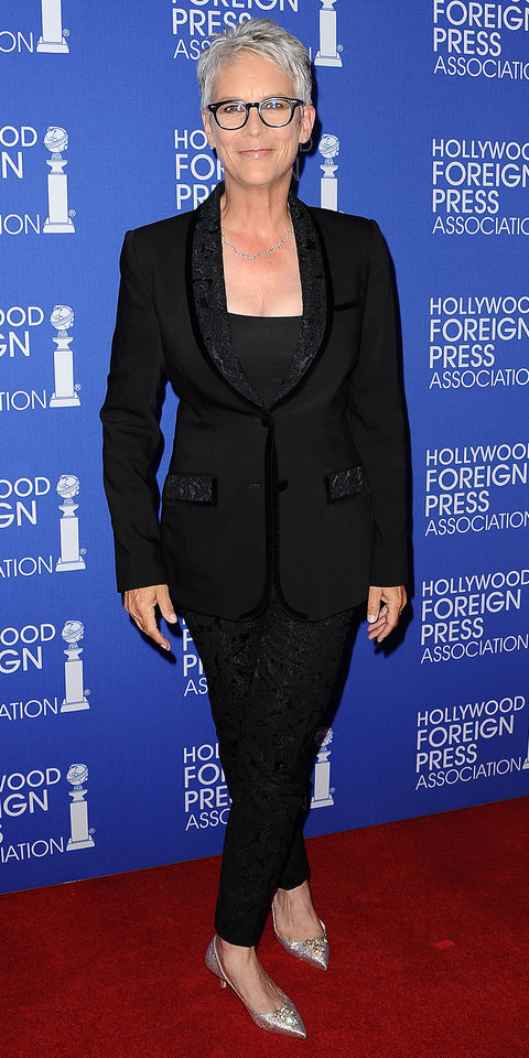 attends the Hollywood Foreign Press Association's grants banquet at the Beverly Wilshire Four Seasons Hotel on August 4, 2016 in Beverly Hills, California.