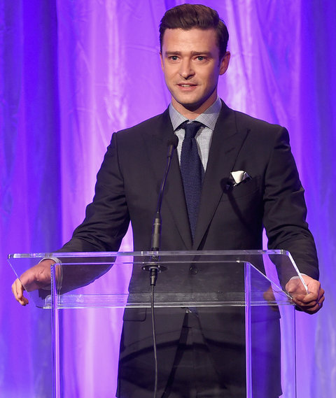 speaks onstage at the Hollywood Foreign Press Association's Grants Banquet at the Beverly Wilshire Four Seasons Hotel on August 4, 2016 in Beverly Hills, California.
