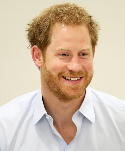 Prince Harry's Changing Looks