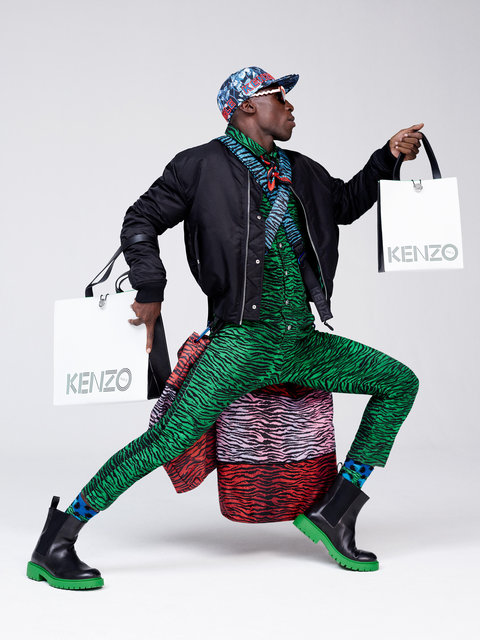 Kenzo H and M Ad Campaign 5