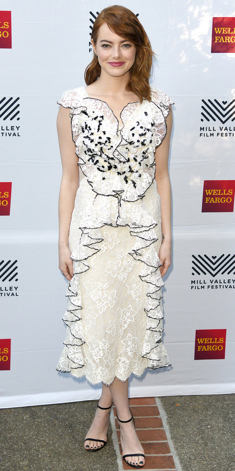 Emma Stone's Best Red Carpet Looks Ever   InStyle.com Emma Stone Red Carpet Style