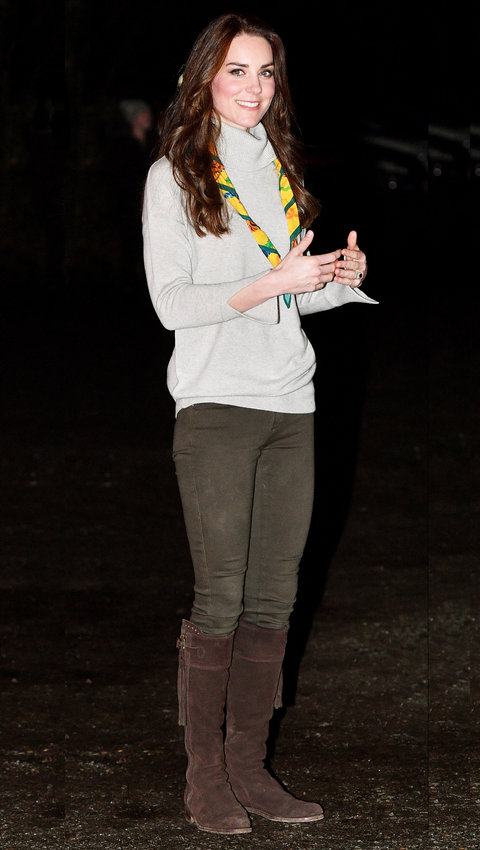 Shop Kate Middleton\u0027s Beloved Boot Style for (Much, Much