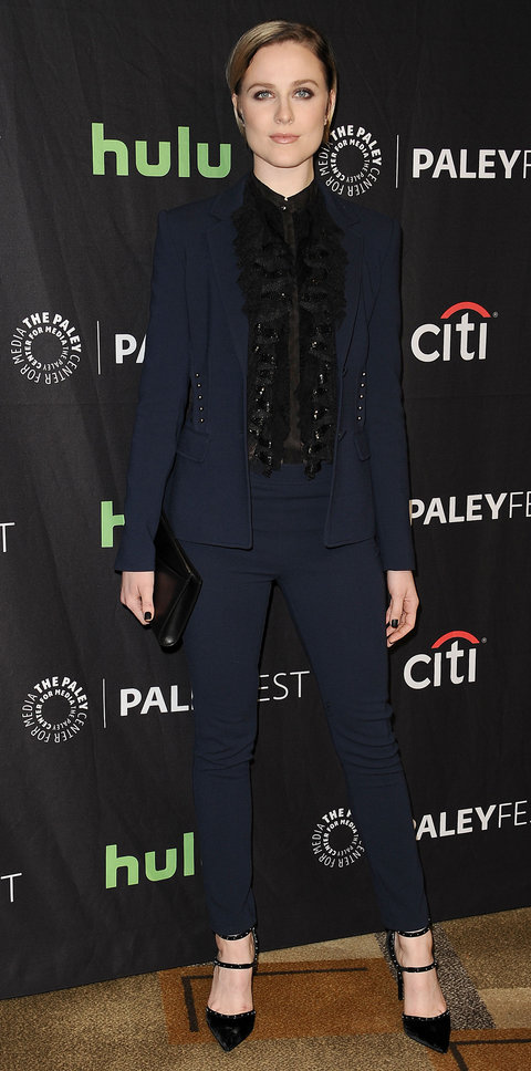 Evan Rachel Wood in Roberto Cavalli