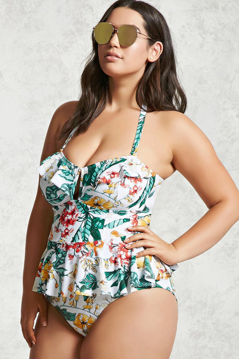 032379c2069 Forever 21 Launches New Plus Swim Collection