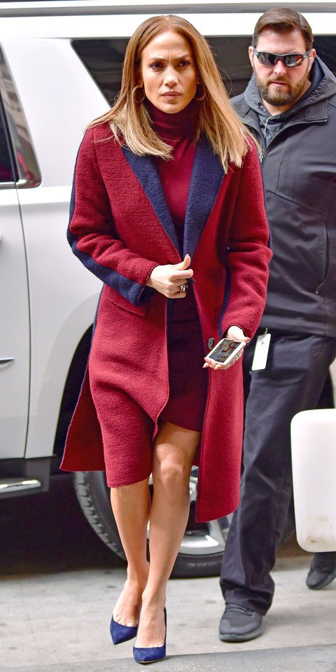 Jennifer Lopez winter Look