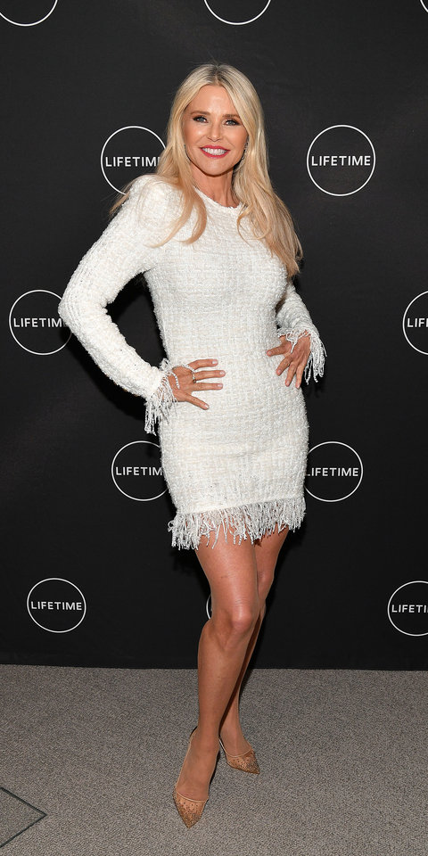 Christie Brinkley Looks Better Than Ever In A Mini Dress And Naked