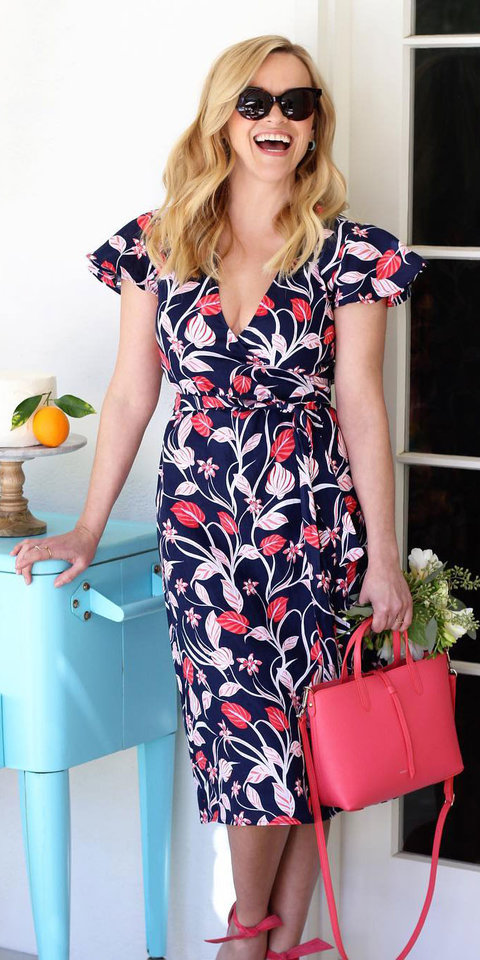 Reese Witherspoon Found the Cutest Linen Dress for Her Birthday