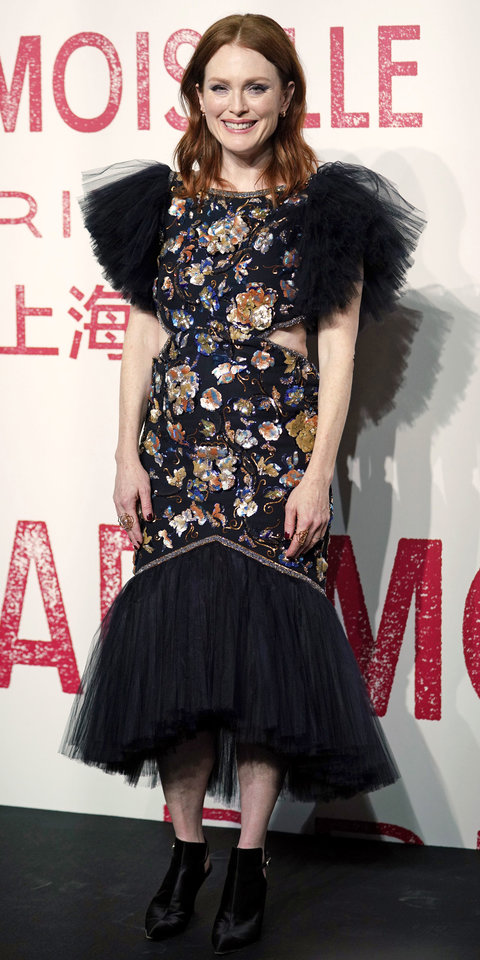 Julianne Moore Just Wore a Cool Pair of Boots With a Chanel Gown
