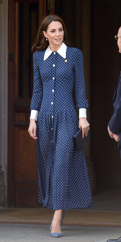 Kate Middleton's Latest Outfit Proves This Timeless Trend Will Never Go Out of Style | InStyle.com