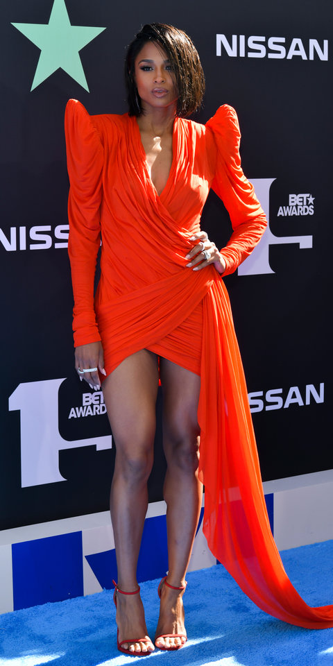 Ciara Looks Absolutely Unbelievable in the Shortest Micro Mini Dress | InStyle.com