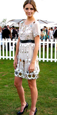 Mischa Barton in Louis Vuitton