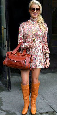 Jessica Simpson in Missoni