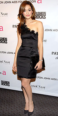 Emmy Rossum in Phillip Lim