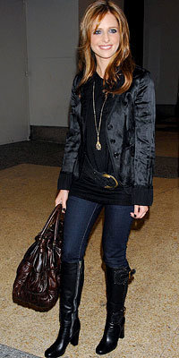 Sarah Michelle Gellar in Chloe and J Brand