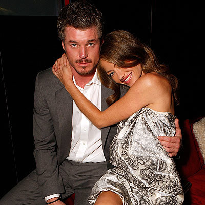 Eric Dane, Rebecca Gayheart, Entertainment Weekly's 5th Annual Emmy celebration, Emmys Pre-Parties