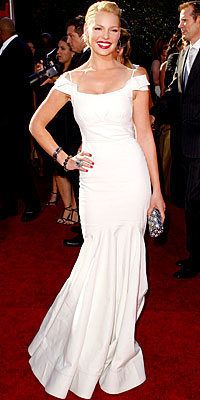 Katherine Heigl in Zac Posen