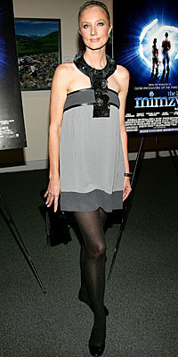 Joely Richardson in Cynthia Rowley