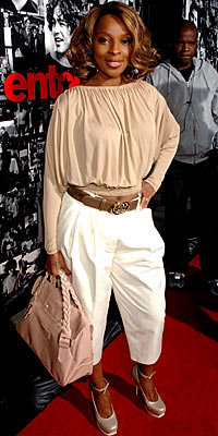 Mary J. Blige in Michael Kors