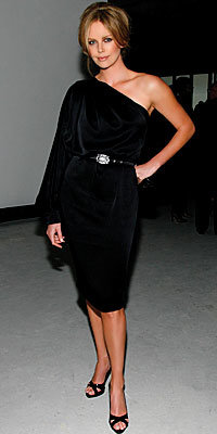 Charlize Theron in Dior by John Galliano