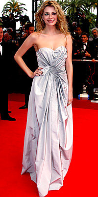 Mischa Barton in Dior by John Galliano