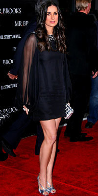 Demi Moore in Notte by Marchesa