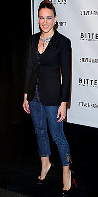 Sarah Jessica Parker in Bitten and Christian Louboutin