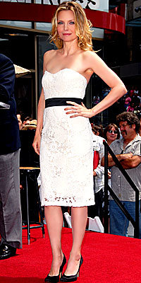 Michelle Pfeiffer in Lela Rose