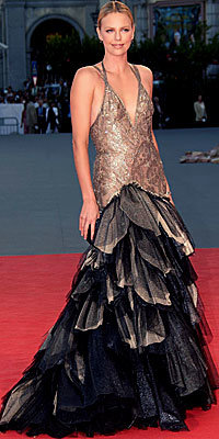 Charlize Theron in Atelier Versace
