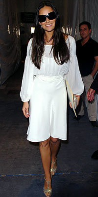 Demi Moore in Temperley
