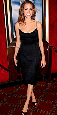 Angelina Jolie in L'Wren Scott