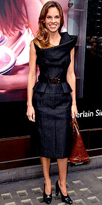 Hilary Swank in Louis Vuitton