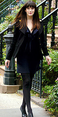 Liv Tyler in Givenchy and Derek Lam