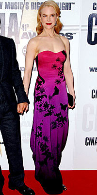 Nicole Kidman in Alexander McQueen and Christian Louboutin