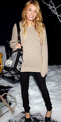 Blake Lively in Iceberg, Stelly McCartney, and Chanel