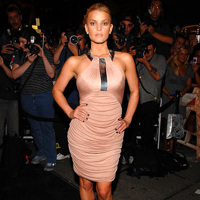 Jessica Simpson, Fashion Week Day Three