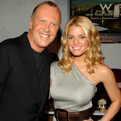 Michael Kors, Jessica Simpson, Fashion Week Day Five