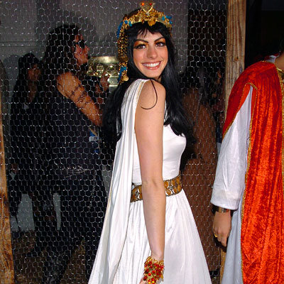 Anne Hathaway as Cleopatra - Our Favorite Stars in Halloween Costumes