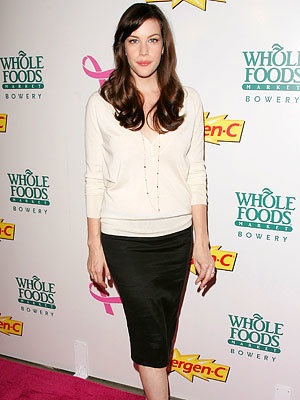 Liv Tyler, Launch of Emergen-C Pink energy drink, New York City