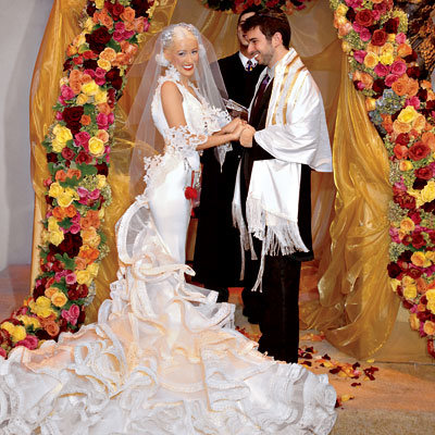 Wedding Day Details: Christina Aguilera and Jordan Bratman