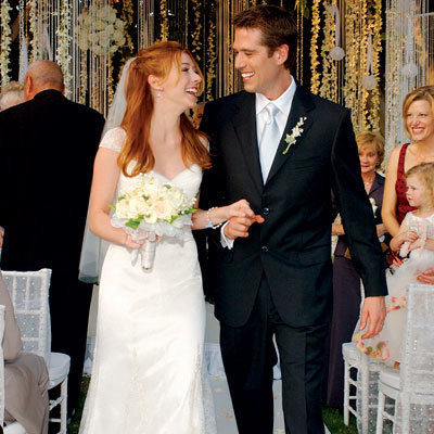 Wedding Day Details: Alyson Hannigan Alexis Denisof