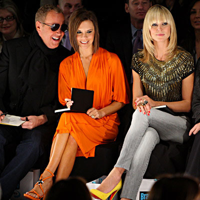 Michael Kors, Victoria Beckham, Heidi Klum, Project Runway Season 4, Fashion Week Day Eight