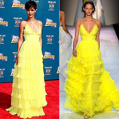 Rihanna, Michaela Kocianova, Giambattista Valli, Stars Love, celebrity fashion