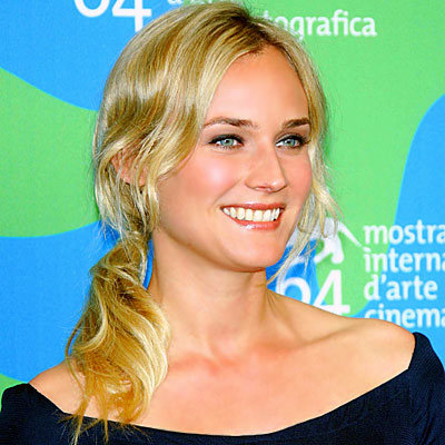 Perfect Ponytails Every Time - Diane Kruger