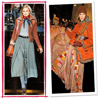 Fall Trends, Country, Hermes, Dolce & Gabbana
