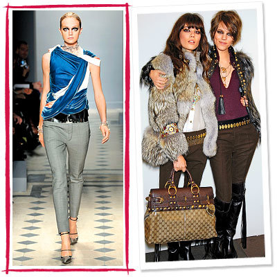 Fall Trends, Rocker, Gucci, Balenciaga