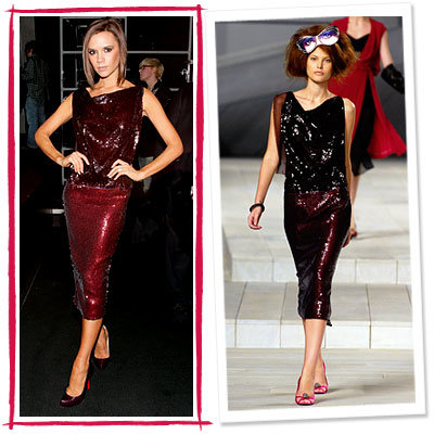 Victoria Beckham, Marc Jacobs, stars love, star style