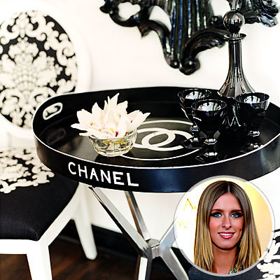 Nicky Hilton's Chanel Tray, Best Vintage Finds
