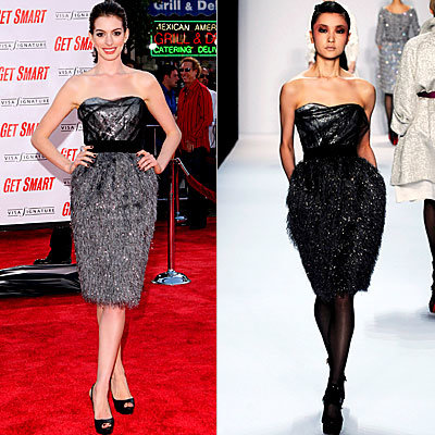 Anne Hathaway, Bill Blass, Stars Love